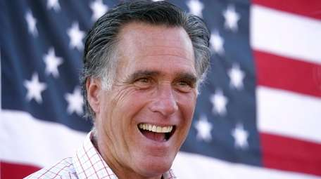 Mitt Romney during a campaign event in American