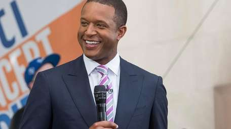 """Craig Melvin appears on NBC's """"Today"""" show at"""