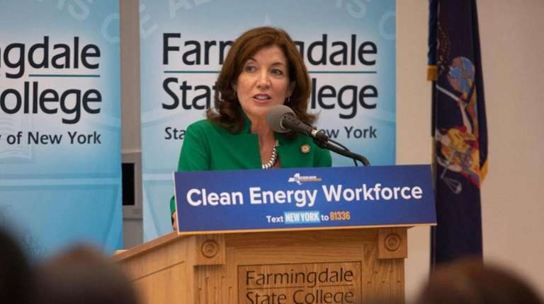 Lt. Gov. Kathy Hochul announced on Tuesday that