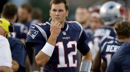 Patriots quarterback Tom Brady against the Washington Redskins