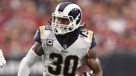 Running back Todd Gurley of the Los Angeles