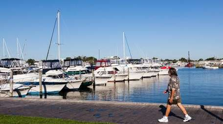 The Bay Shore Marina, seen on Sept. 22,