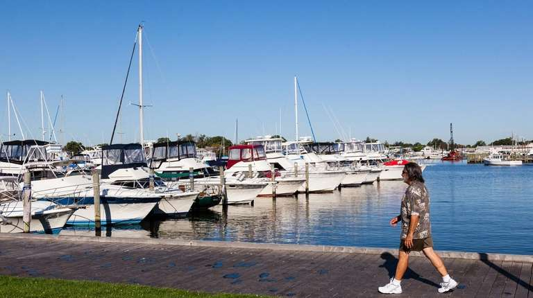 The Bay Shore Marina, seen on Sept. 22,