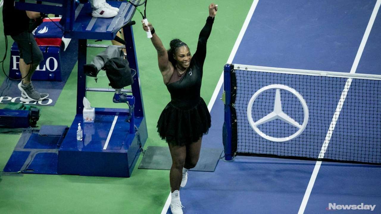 On Tuesday, September 4, 2018, Serena Williams dominated