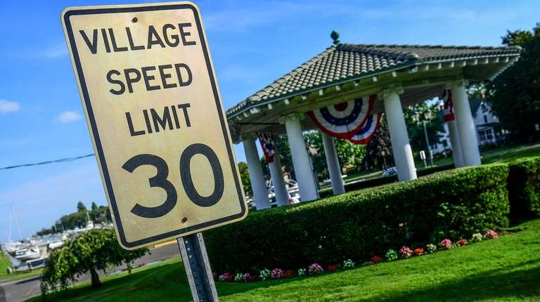 The speed limit in Brightwaters was reduced from