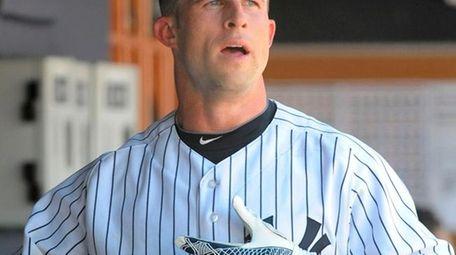 Yankees outfielder Brett Gardner batted leadoff against Oakland
