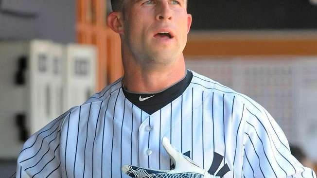 Yankees outfielder Brett Gardner batted leadoff against Oakland
