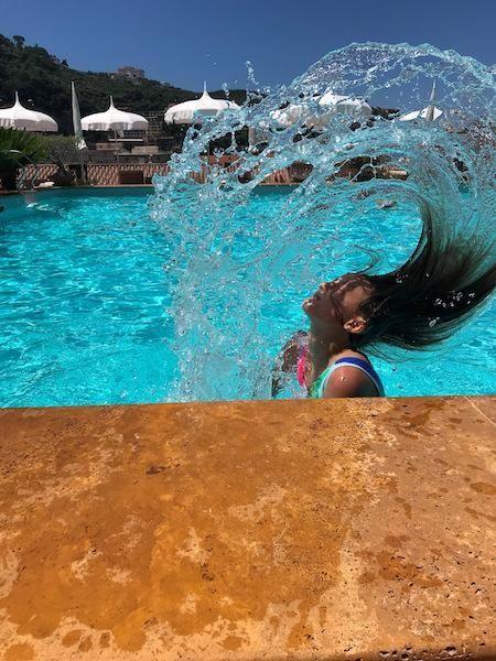 Leah Raffa-Seip - Sorrento Italy rooftop pool -
