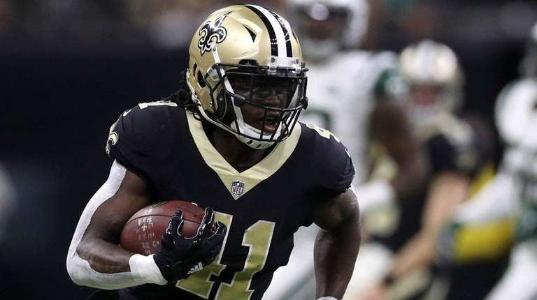 Alvin Kamara of the New Orleans Saints on