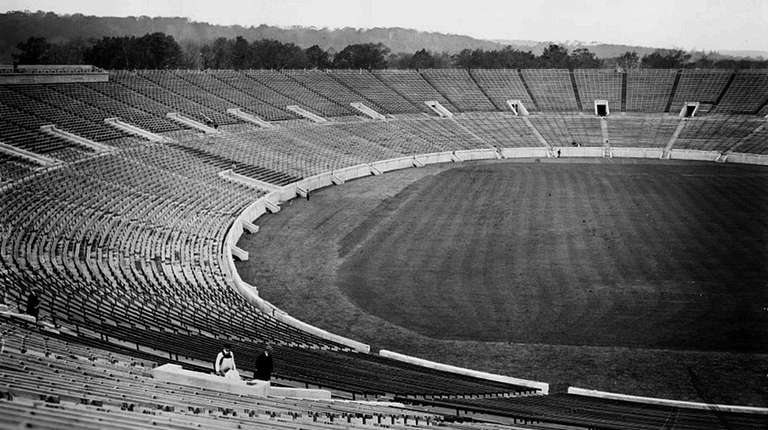 The Yale Bowl at Yale University before its