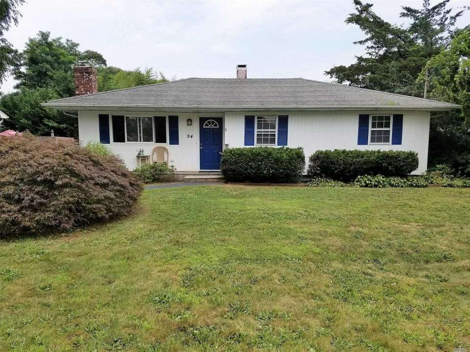 This East Patchogue ranch includes three bedrooms and