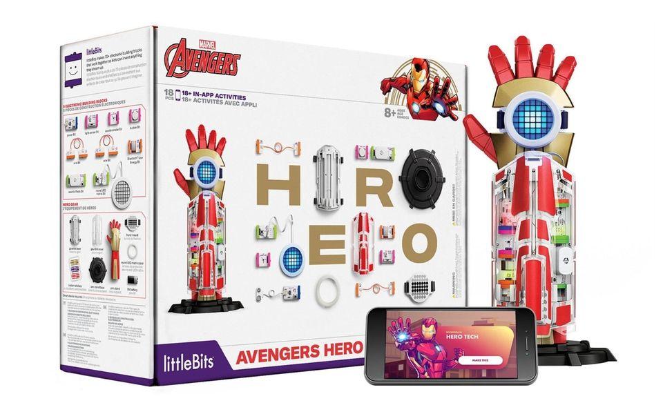 The Avengers Hero Inventor Kit from littleBits lets
