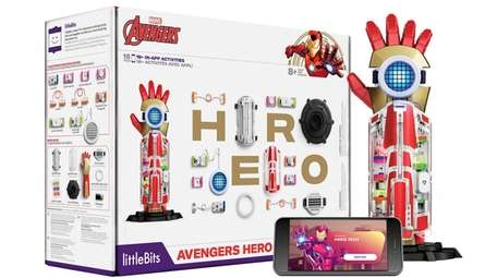 The Avengers Hero Inventor Kit from littleBits lets
