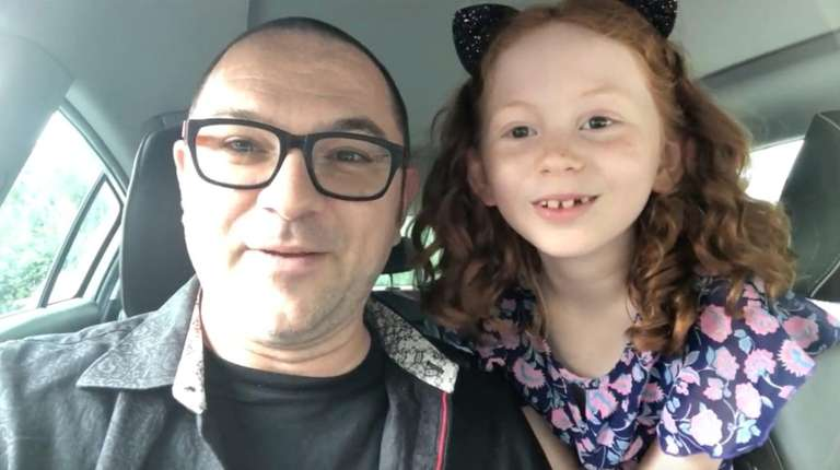 Chris Whaites, and his daughter, Olivia, filmed a