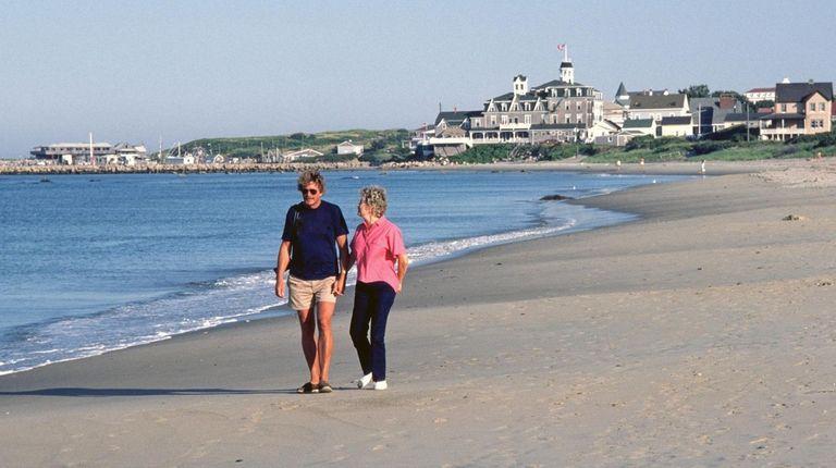 The beaches of Rhode Island's Block Island invite