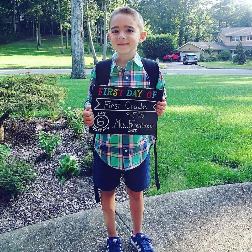 Carmine Zaino First Day of First Grade at