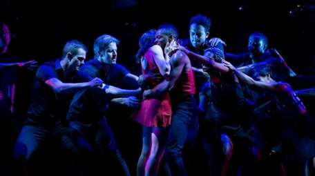 The Mark Stuart Dance Theatre performs in the