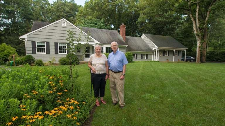 Carol and Erich Willen at their Shoreham home