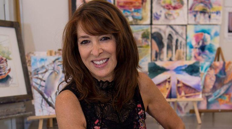 "Jan Guarino, 63, a self-proclaimed ""logo goddess,"" has"