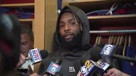Giants receiver Odell Beckham Jr. talks about facing