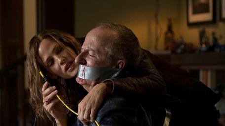 Jennifer Garner and Jeff Harlan appear in a