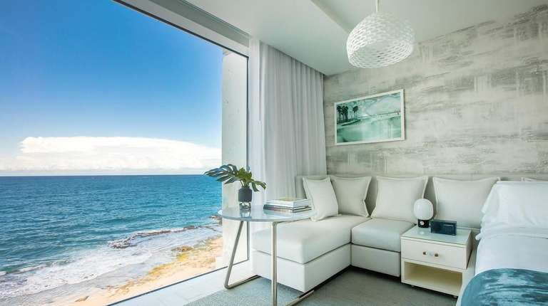 Serafina Beach Hotel in San Juan, Puerto Rico,