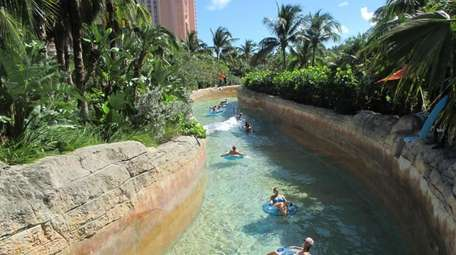 Admission at the adjoining Aquaventure water park is