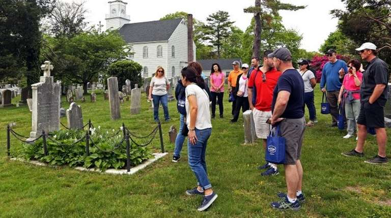 A  guided tour stop at the 1812