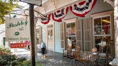 Pashley Children's Boutique in Cold Spring Harbor says