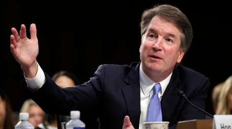 President Donald Trump's Supreme Court nominee, Brett Kavanaugh,