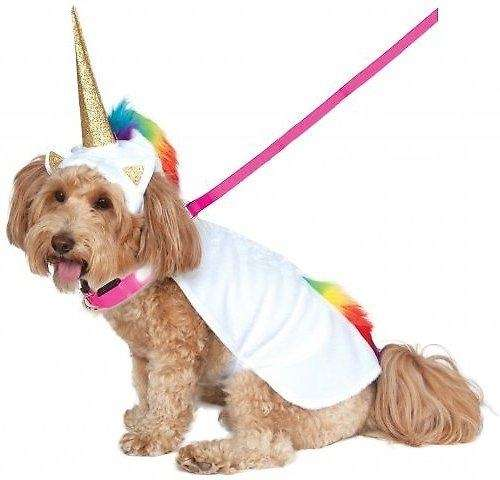 Transform your pup into a mythical unicorn complete