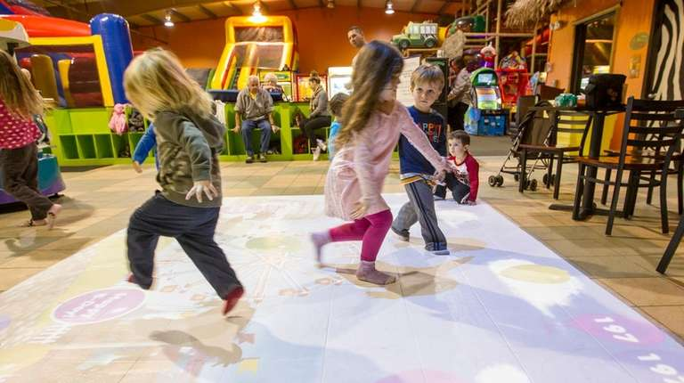Kids play at Safari Adventure in Riverhead on