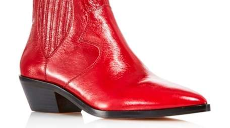 A bootie is less of a commitment than