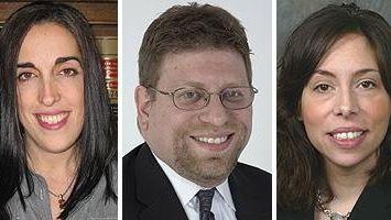 Lawyers Christine Lobasso Sullivan, Andrew S. Koenig and