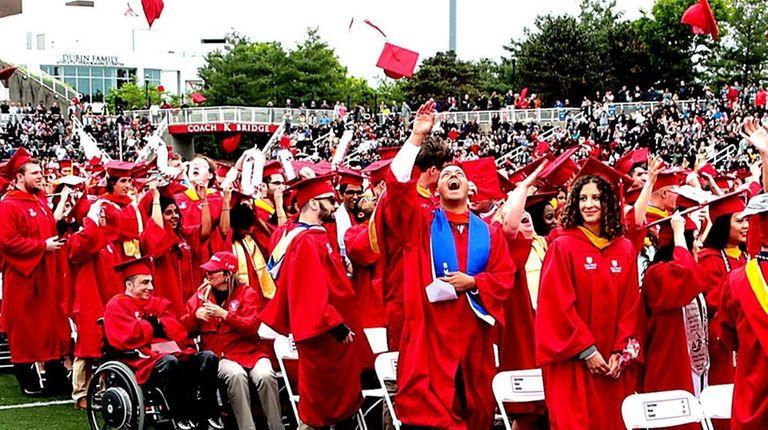 Stony Brook University heads the list of local
