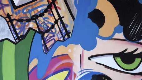 Graffiti artist John