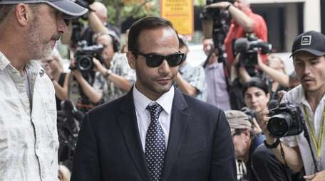 Former Trump campaign aide George Papadopoulos leaves U.S.