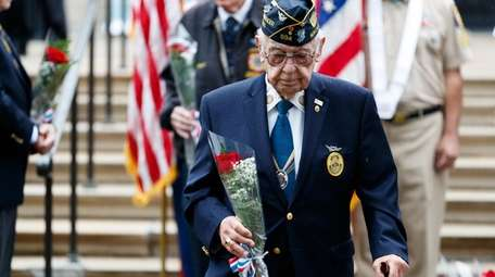 WWII Veteran Morty Roberts, 92, of East Northport,