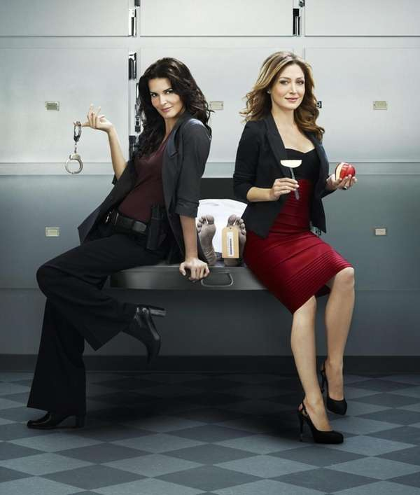 Angie Harmon and Sasha Alexander star in