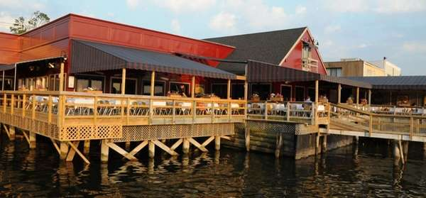 Louie's Oyster Bar & Grille, on the water