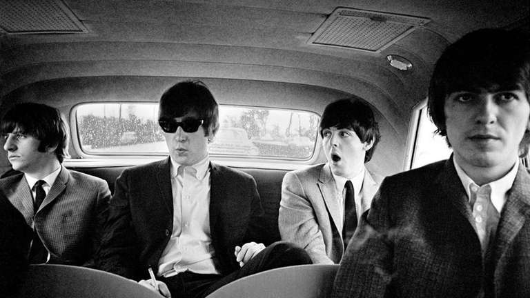 The Beatles, snapped on their 1964 U.S. tour