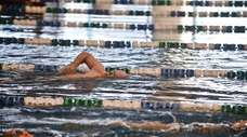 Nassau County residents take part in recreational swimming