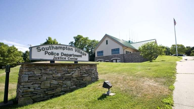 Exterior of the Southampton Village Police Dept. in