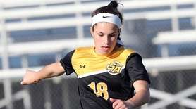 St. Anthony's Brianna Passaro races to the goal