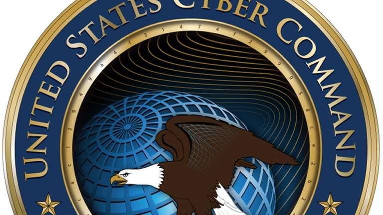 The Pentagon's new U.S. Cyber Command logo contains