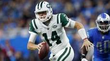 Sam Darnold had an impressive NFL debut in