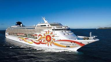 The revamped Norwegian Sun, seen here in the