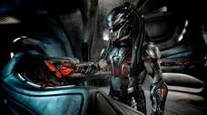 "The Predator in  ""The Predator,"" the latest"