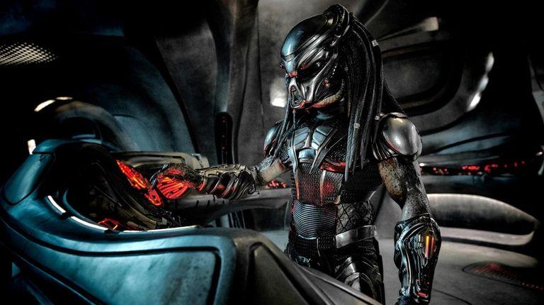 """The Predator in  """"The Predator,"""" the latest"""