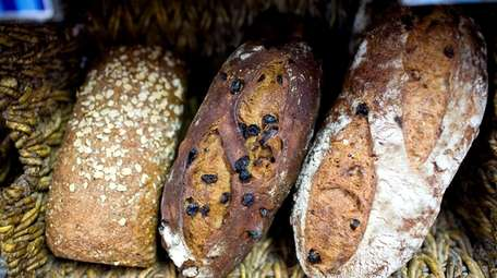 Bread for sale at Blue Duck Bakery's Southhold